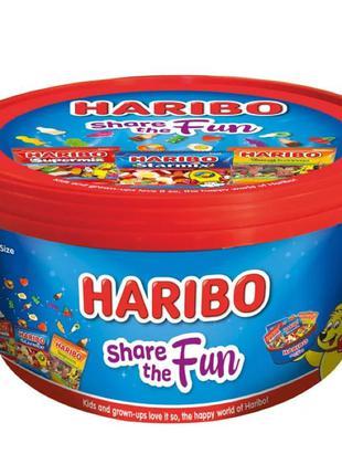 Ведро жевательного мармелада от Haribo Share The Fun
