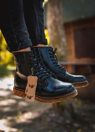 Ботинки Dr. Martens 1460 Black (термо)