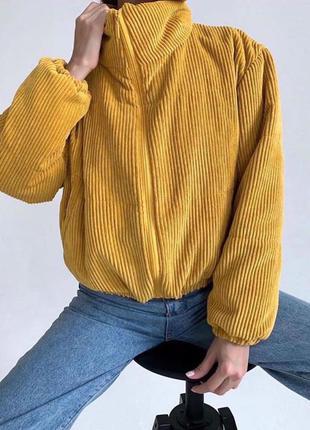 Вельветовая куртка
