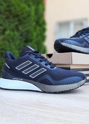 Классные мужские кроссовки adidas nova run x чёрные