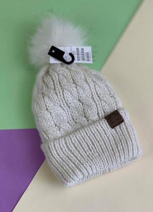 Зимняя шапка на девочку h&m
