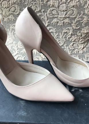 Лодочки Туфли женские кожа