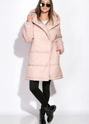Стильная куртка на завязках, осень-зима
