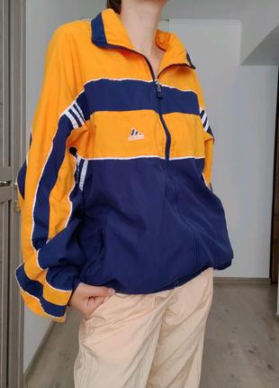 Винтажная олимпийка мастерка ветровка Adidas Оригинал!