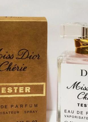 Тестер 60ml Gold для женщин Dior Miss Dior Cherie