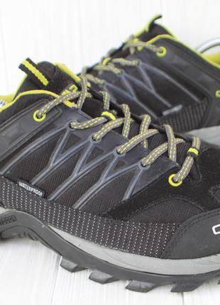 Ботинки cmp италия 45р кроссовки непромокаемые треккинговые