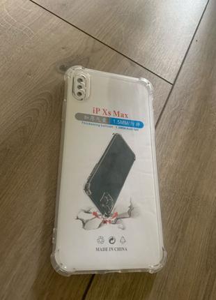 Защитный чехол на Iphone Xs Max бампер противоударный