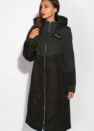 Удлиненная куртка женская, зима