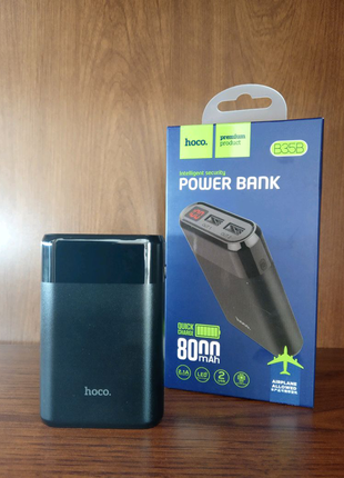 Внешний аккумулятор Hoco B35B Entourage LED Digital display 8000m