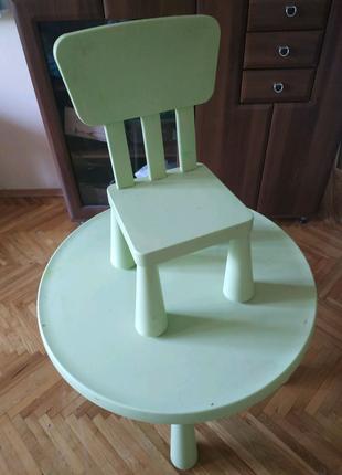 Детский стол + стул