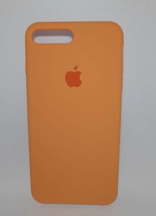 Задня накладка iPhone 7 Plus Original Soft Touch Case Papaya