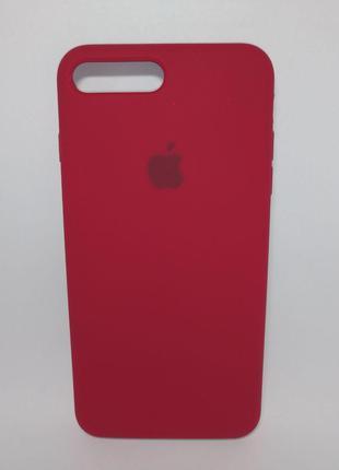 Задня накладка iPhone 7 Plus Original Soft Touch Case Rose Red