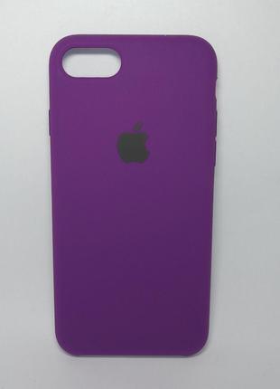 Задня накладка iPhone 7 Original Soft Touch Case plum