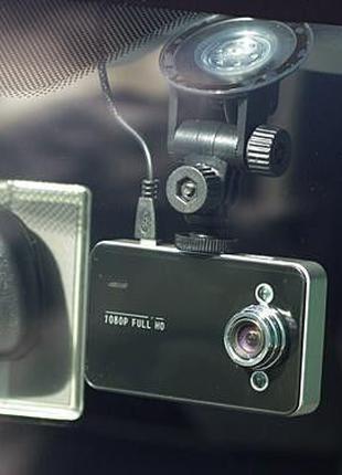 Видеорегистратор автомобильный DVR K6000 Full HD Vehicle Black...