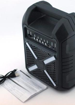 Колонка мини-чемодан B706 с выходом на микрофон