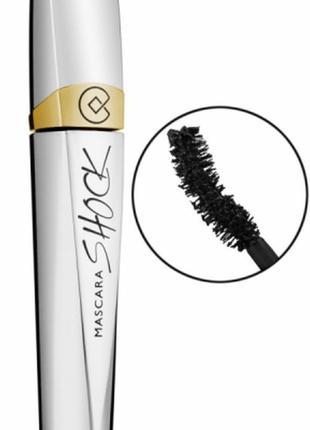 Collistar mascara shock, чорна туш, черная тушь для ресниц.