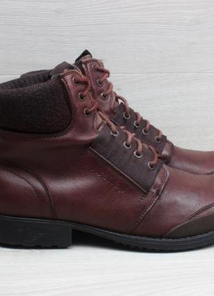 Кожаные мужские ботинки firetrap, размер 44 - 44.5