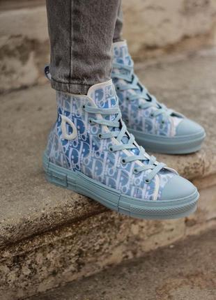 Christian dior low sky blue шикарные женские кроссовки/ кеды 😍