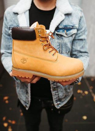 "Timberland ""ginger"" шикарные женские зимние ботинки на меху (у..."