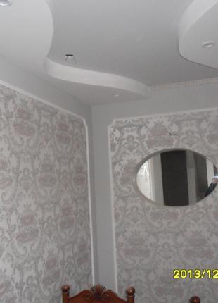 Шпаклевка стен,потолков под обои и покраску.Штукатурка.Цены