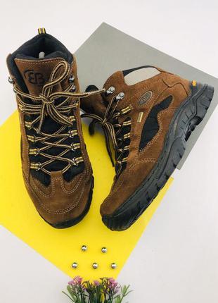 Замшевые ботинки comfortex vibram