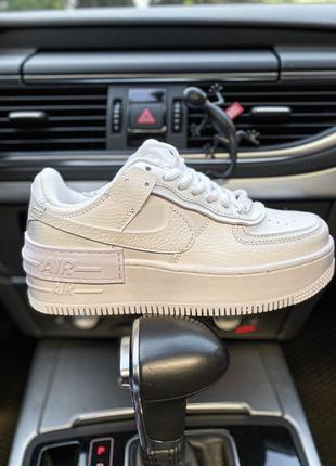 Кроссовки Nike Air Force 1 Low Shadow White