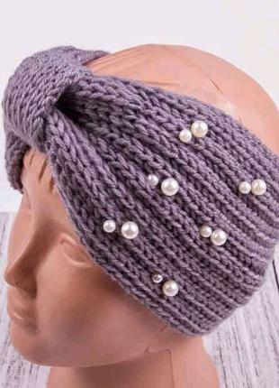 Повязка чалма, повязка для волос
