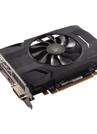 Видеокарта XFX Radeon RX 460 4GB Single Fan. 6pin GPU  (НОВАЯ)