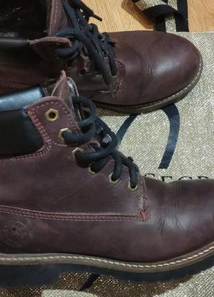 Кожаные деми ботинки 37 размер