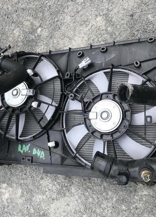 Комплект радиатор 3шт дифузор 2.2D Toyota RAV4 Rav 4 Тойота Рав 4