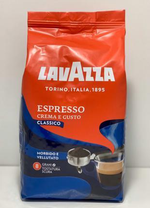 Кофе в зернах Lavazza Espresso Crema e Gusto 20% араб Италия 1кг