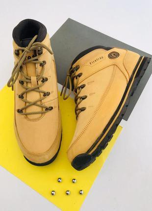 Мужские кожаные ботинки firetrap