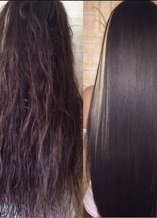 Кератин, ботокс, наращивание, афронакрутка волос