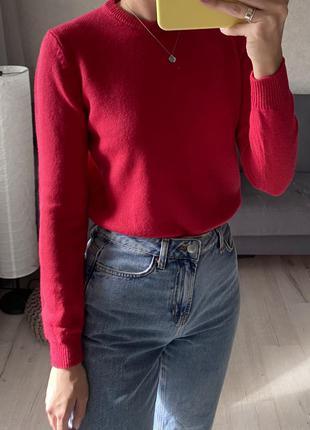 Яркий шерстяной свитер woolovers