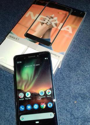 Мобільний телефон Nokia 6.1 Dual Sim 4/64GB Blue