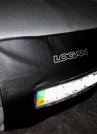 Утеплитель радиатора Рено Логан Renault Logan (шитый)