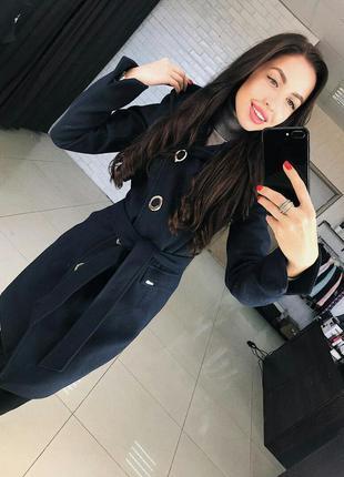 Пальто весна осень женское демисезонное молодежное стильное