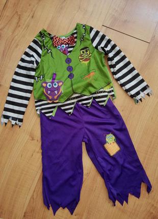 Карнавальный костюм зомби на хэллоуин