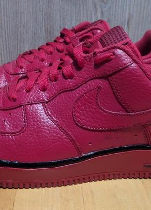 Nike air force - шкіряні кросівки