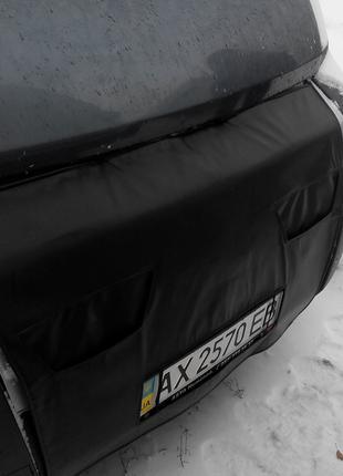 Утеплитель радиатора Fiat Ducato Фиат Дукато (шитый)