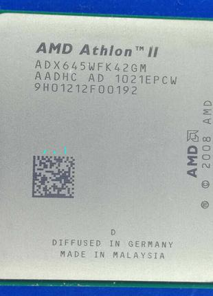 AMD Athlon II X4 645 3100mhz s.AM2+/AM3 Процессор