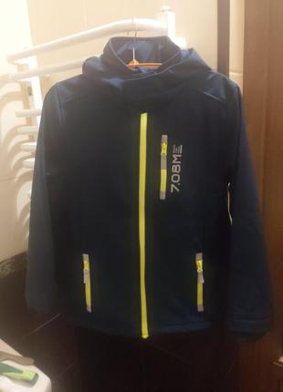 Новая куртка softshell фирмы yigga topolino р. 140, 152