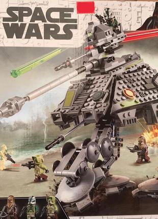 Конструктор 11424 Звездные войны Шагоход-Танк АТ-AP Звездные Войн