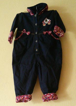 Детский комбинезон, куртка