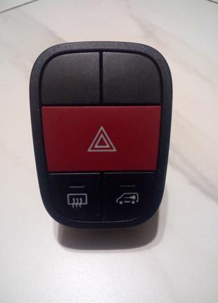 Кнопка аварийки Фиат Фиорино