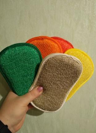 Набор губок для уборки микрофибра