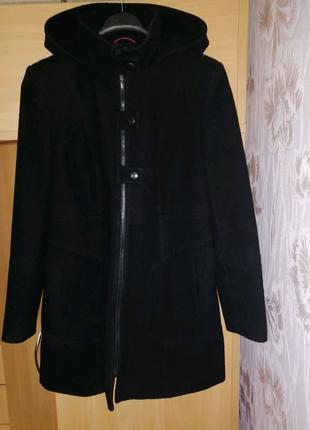 Пальто демисезонное, пальто Next, полупальто, пальто с капюшоном