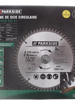 Диск на циркулярную пилу Parkside Германия