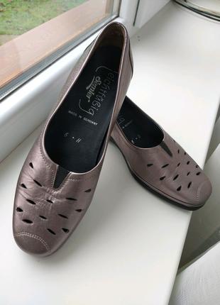 Туфли немецкого бренда Semler (очень удобные)