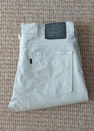 Levi's 511 slim fit чиносы джинсы оригинал (w34 l34)